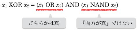 XORの式を分解
